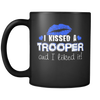 I Kissed A Trooper- Blue Kisses- Mug