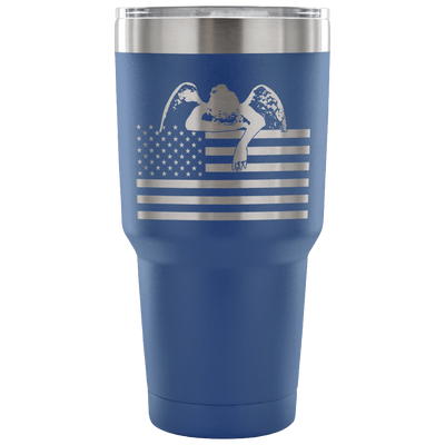 Weeping Angel American Flag Tumbler