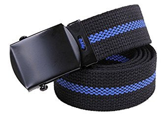 Thin Blue Line Police Belt