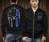 Blue Line Spartan Warrior Bomber jacket