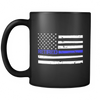 Thin Blue Line Flag Retired Mug