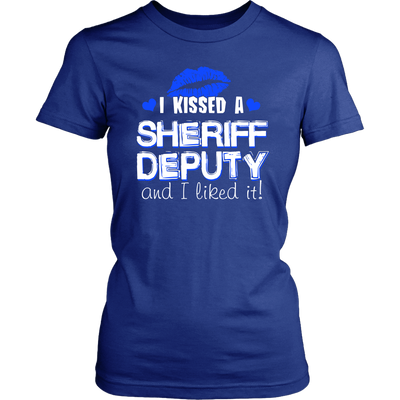 I Kissed Sheriff Deputy T-shirt and Hoodie
