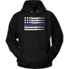 Thin Blue Line Ammo and Bullets Shirts and Hoodies