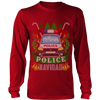 Police Car Ugly Christmas Shirts & Sweaters