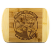St Michael Protect Us Round Edge Chopping Board