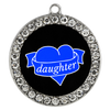 Daughter Heart Bracelet - Lock and Key