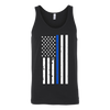 Men's Thin Blue Line Flag Tank Top