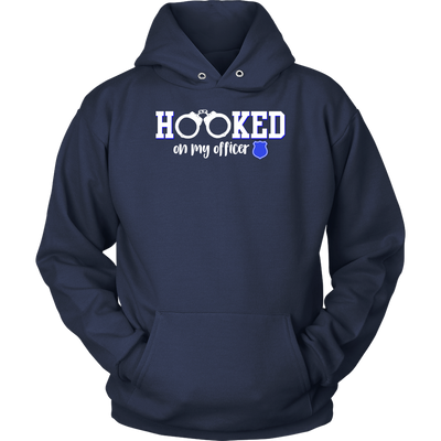 Hooked On my Officer shirts and hoodies