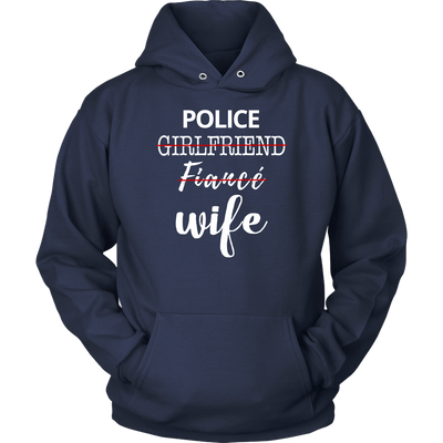 Upgraded Police Wife Shirts and Hoodies