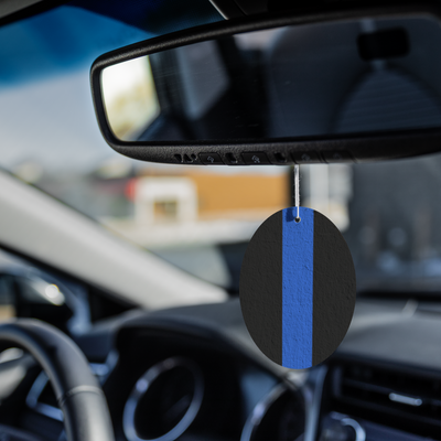 Thin Blue Line Air Freshener - 3 pack