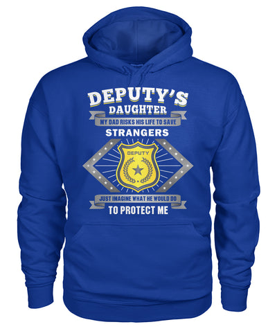 Deputy's Daughter My Dad Risk His Life to Save Stranger Shirts and Hoodies