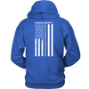 THIN SILVER LINE FLAG HONOR RESPECT SHIRTS AND HOODIES
