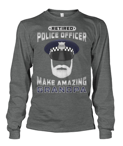 Retired Police Officer Make Amazing Grandpa Shirts and Hoodies