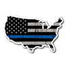 Thin Blue Line USA Flag Sticker