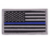 American Flag Thin Blue Line Police Flag Patch