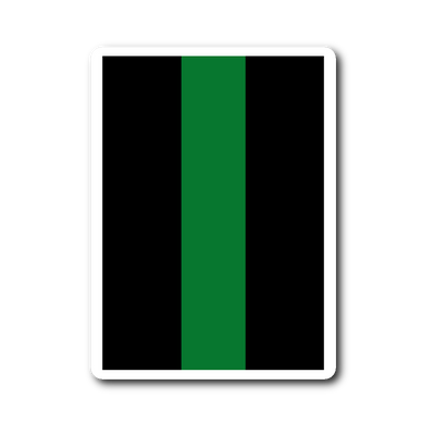 THIN GREEN LINE DECAL CAR LAPTOP STICKER