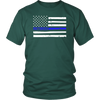 Thin Blue Line Flag Retired Shirts and Hoodies
