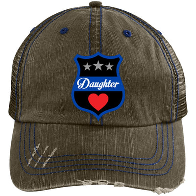 Thin Blue Line Daughter Trucker Hat