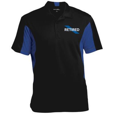 Sport-Tek Men's Retired Thin Blue Line Performance Polo