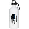 Thin Blue Line Spartan Stainless Steel Water Bottle