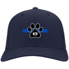 K9 Paw Thin Blue Line Hat