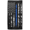 Thin Blue Line American Flag Beach Towel - 37x74