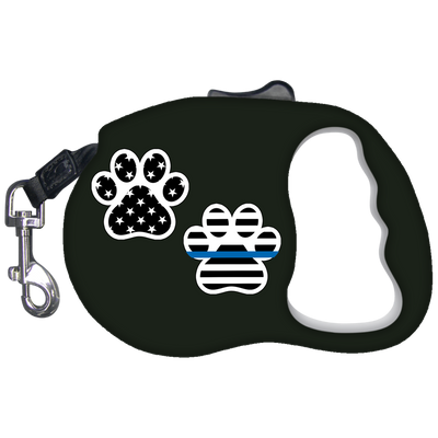 K9 Paw Print Dog Leash