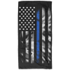 Thin Blue Line Amercain Flag Bath Towel - 32x64