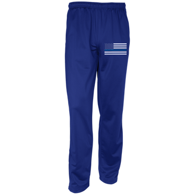 Men's Thin Blue Line Flag Sport-Tek Warm-Up Track Pants