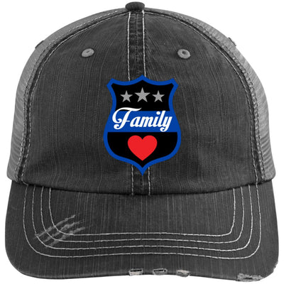 Thin Blue Line Family Trucker Hat