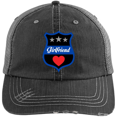 Thin Blue Line Girlfriend Trucker Hat