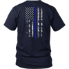 Blue Lives Matter Blue Line Flag Shirts and Hoodies