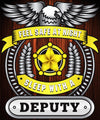 Winter Special -  Feel Safe At Night Sleep With A Deputy Throw Blanket