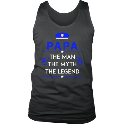 Papa, The Man, The Myth, The Legend Tank Top