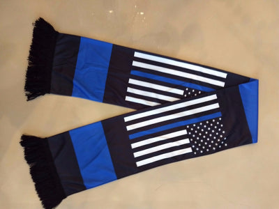 New Year's Special - Thin Blue Line American Flag Scarf