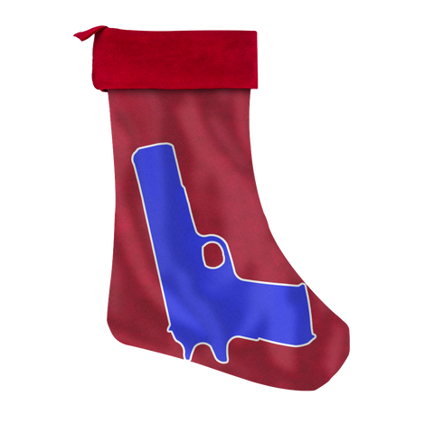 Police Christmas Stocking