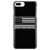 Blue Lives Matter - Duty, Honor, Courage Blue Line Phone Case