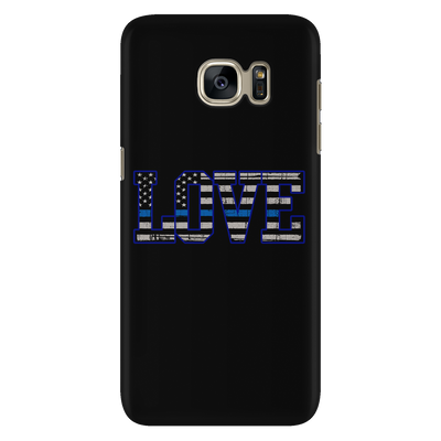 Thin Blue Line Love - Phone Case