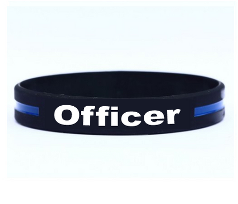 Officer Silicone Bracelet