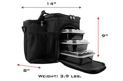 3 Meal Thin Blue Line ISOBAG ®