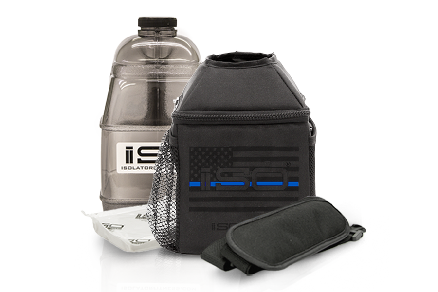 Isolator Fitness Meal Prep Bags - Thin Blue Line Shop 24ee1d024e