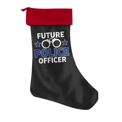 FUTURE POLICE OFFICER Christmas STOCKING