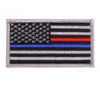 Thin Blue and Thin Red Line Police Flag Patch