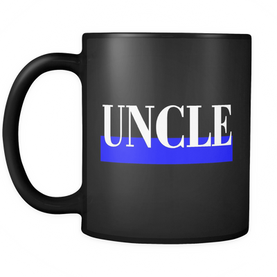 Thin Blue Line Uncle Mug