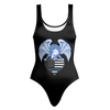 Thin Blue Line Flag American Eagle Swimsuit