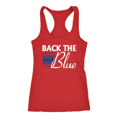 Women's Back the Blue Tank Tops