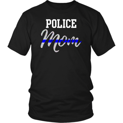 Police Mom Shirt and Hoodies