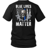 Blue Lives Matter Skull & Guns Shirts & Hoodies