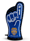 Police Protect and Serve Oven Mitt - includes 1 right handed oven mitt only