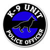 Thin Blue Line K-9 Unit Sticker
